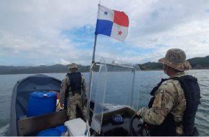 El Senan y el Sinaproc llevan a cabo una búsqueda marítima y por tierra. Foto: Cortesía Senan