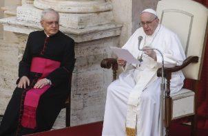Papa Francisco será sometido a una intervención quirúrgica. Foto: EFE