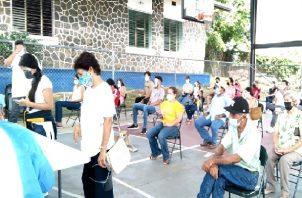 Para este programa se ha necesitado un recurso humano que supera las 1,200 personas, principalmente voluntarios de entidades de seguridad, así como funcionarios de diferentes instituciones del estado. Foto: Thays Domínguez