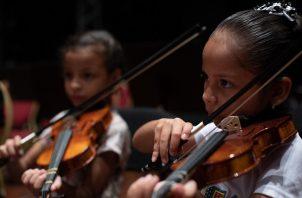 La Red de Orquestas y Coros Juveniles de Panamá se fundó en 2016. Foto: Cortesía