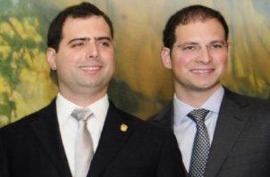 Piden respetar derechos y garantías a los diputados Luis Enrique y Ricardo Alberto Martinelli. Foto: Archivo