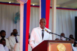 El presidente haitiano, Jovenel Moise. Foto: EFE