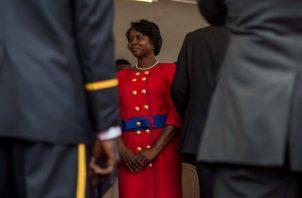 La primera dama de Haiti Martine Moise. EFE