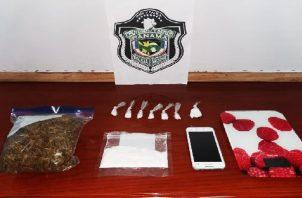 Durante los allanamientos y operativos encubiertos, las autoridades pudieron ubicar cocaína y marihuana que eran vendidas por los hoy condenados. Foto: José Vásquez