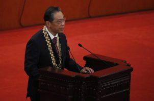 El jefe del equipo de expertos médicos de China contra la covid, Zhong Nanshan. Foto: EFE