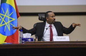 El primer ministro etíope, Abiy Ahmed, se adjudicó un nuevo mandato de cinco años en la jefatura del Gobierno etíope. Foto: EFE