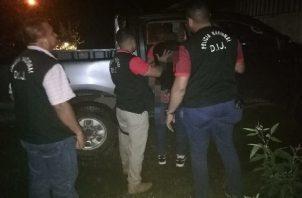 Momento de la detención de Neftalí Gallardo en octubre de 2019, por el homicidio de Erick Omar Atencio. Foto: José Vásquez