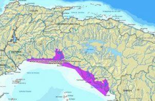 Este es el área que abarca el Humedal Bahía de Panamá, que se extiende desde Juan Díaz hasta el estero de Chimán, cerca a Darién. Foto:Cortesía