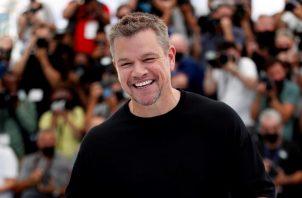 El actor Matt Damon, en el Festival de Cannes. EFE/EPA/Sebastien Nogier