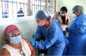 En el circuito 7-1 se aplicaron más de 30 mil vacunas de Pfizer. Foto: Thays Domínguez