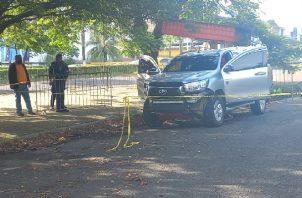 Las autoridades iniciaron las investigaciones sobre este ataque que ocurrió en Colón. Foto: Diomedes Sánchez