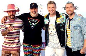 Backstreet Boys es una boy band estadounidense de música pop fundada en Orlando, Florida, el 20 de abril de 1993. Foto: EFE
