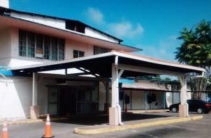 La Policlínica Hugo Spadafora se encuentra ubicada en Coco Solo. Foto: Diómedes Sánchez