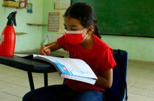 Existe flexibilización con el uso del uniforme escolar. Foto: Cortesía Meduca