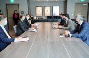 El espacio permitió la presentación formal del nuevo gerente general de Tigo Panamá, Marcelo Benítez. Foto/Cortesía