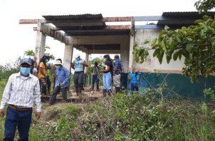 Las instalaciones están a punto de desplomarse y desde su construcción, durante la dictadura militar, no se les da el mantenimiento básico.Foto: Melquiades Vásquez