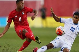 Panamá y Honduras se enfrentaron en el 2015 en Copa Oro: Foto:EFE