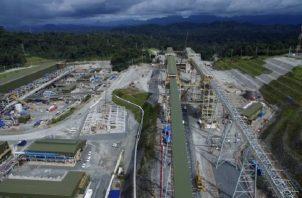 Cobre Panamá, de la empresa Minera Panamá, propiedad de FQM, con inversión de 6,700 millones de dólares. Foto: Archivos