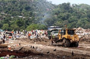 Relleno de Cerro Patacón contamina los ríos, el Canal de Panamá y Áreas Protegida, afirma la AAUD. Foto: Cortesía AAUD