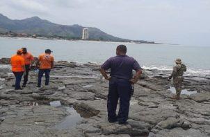 En los últimos meses se han desarrollado operaciones de búsqueda y rescate por ciudadanos desaparecidos en las playas de Chame. Foto: Cortesíoa Senan