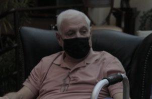 Ricardo Martinelli, expresidente de la república, fue intervenido quirúrgicamente recientemente y recibió incapacidad. Víctor Arosemena