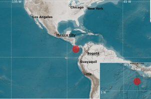 Reporte emitido por el Instituto de Geociencia de la Universidad de Panamá. Foto: Cortesía