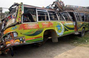 Los heridos han sido trasladados a un hospital de Dera Ghazi Khan. Foto: EFE