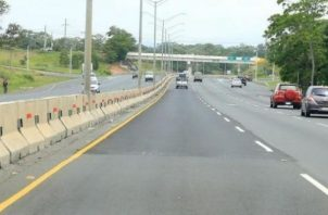 Autopista Arraiján- La Chorrera.