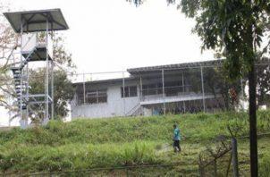 EL Ministerio de Gobierno asegura que no se están haciendo adecuaciones a El Renacer. Foto: Archivo