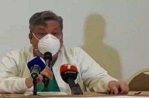 El doctor Juan Wong dijo que hay personas que parecen tener intereses de por medio. Foto: Grupo Epasa