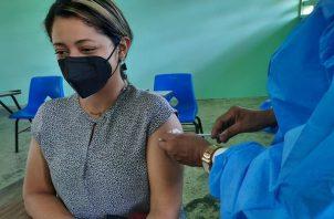 Panamá trata de acelerar su estrategia de vacunación. Foto: Cortesía Minsa