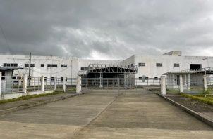 El hospital tiene un avance de construcción del 77 %. Foto: José Vásquez