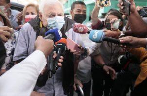 El vicepresidente pretende inhabilitar a Martinelli debido a sus aspiraciones de gobernar el país.. Foto: Grupo Epasa