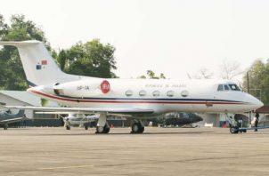 El mantenimiento del avión presidencial ha sido polémico. Foto: Archivo