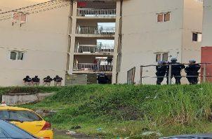 """Los nueve ciudadanos fueron detenidos durante la """"Operación Gatún"""", el pasado 21 de julio, en los multifamiliares. Foto: Cortesía PGN"""