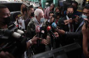 El expresidente Ricardo Martinelli es juzgado por segunda ocasión. Foto: Víctor Arosemena