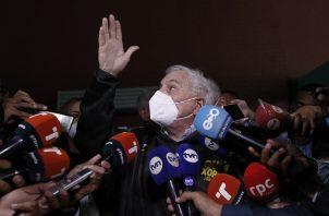 Ricardo Martinelli ha dicho en reiteradas ocasiones que es víctima de una persecución política. Foto: EFE