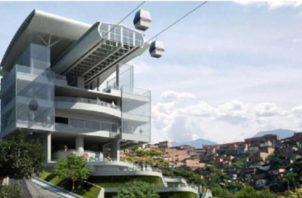 Concepto de la Estación Norte, cerca de Nuevo Progreso. Foto: Internet