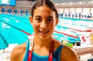 Emily Santos ahora seguirá enfocada con su carrera y estudios en los Estados Unidos. Foto: Cortesía COP