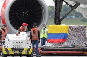 Colombia es el mayor receptor de donaciones de vacunas de Estados Unidos. Foto: EFE