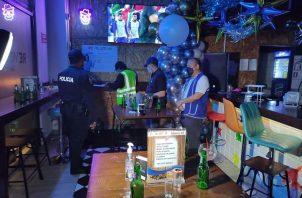 El operativo nocturno fue realizado por personal del Minsa. Foto: Minsa