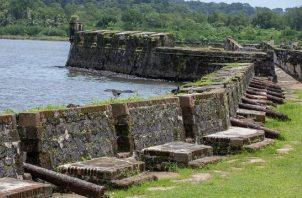 Las fortificaciones de la costa caribeña de Panamá forman parte de patrimonio de la humanidad. Foto: Archivo