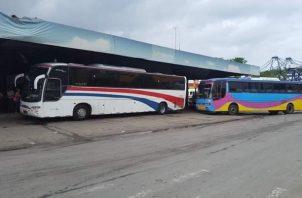 La terminal de transporte en Colón presenta un deterioro en sus estructuras. Foto: Diomede Sánchez