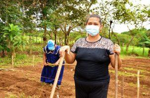 """Jeny Jaramillo, de 47 años de edad, es la presidenta de la """"Granja Las Delicias""""."""