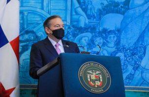 Laurentino Cortizo reiteró que ya el proceso de negociación empezó. Foto: Cortesía Nito Cortizo