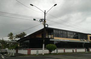 La Clínica Hospital Atlántico está ubicado en los predios de la calle 7, avenida Santa Isabel. Foto: Diómedes Sánchez