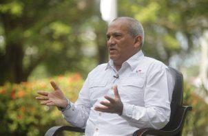 El ministro de MiAmbiente, Milciades Concepción, comentó que Panamá lo que necesita es más educación ambiental. Foto: EFE