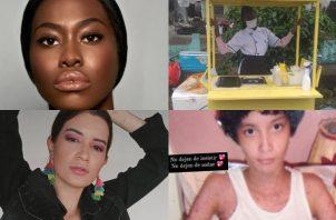 Yesenia Gomez (superior) y Valeria Del Carmen Murillo (inferior). Fotos: Instagram