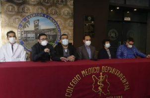 Detectan primer caso de hongo negro en Bolivia en medio de una desescalada de la tercera ola de contagios. Foto: Redes Sociales