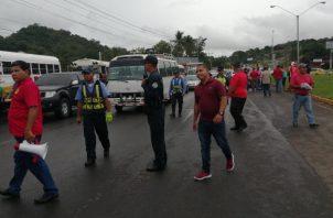 Transportistas realizaron diferentes protestas en contra de esta medida. Foto: Archivo